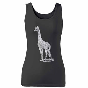 Spotted Giraffe Woman's Tank Top
