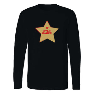Star Baker Baking Enthusiast Long Sleeve T-Shirt