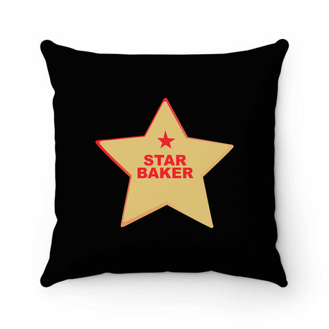 Star Baker Baking Enthusiast Pillow Case Cover