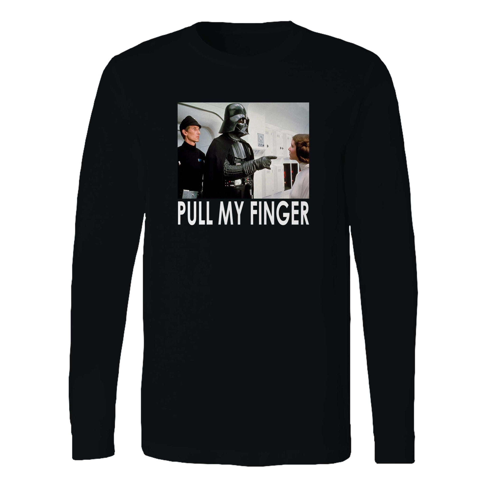 Star Wars Darth Vader Pull My Finger Long Sleeve T-Shirt
