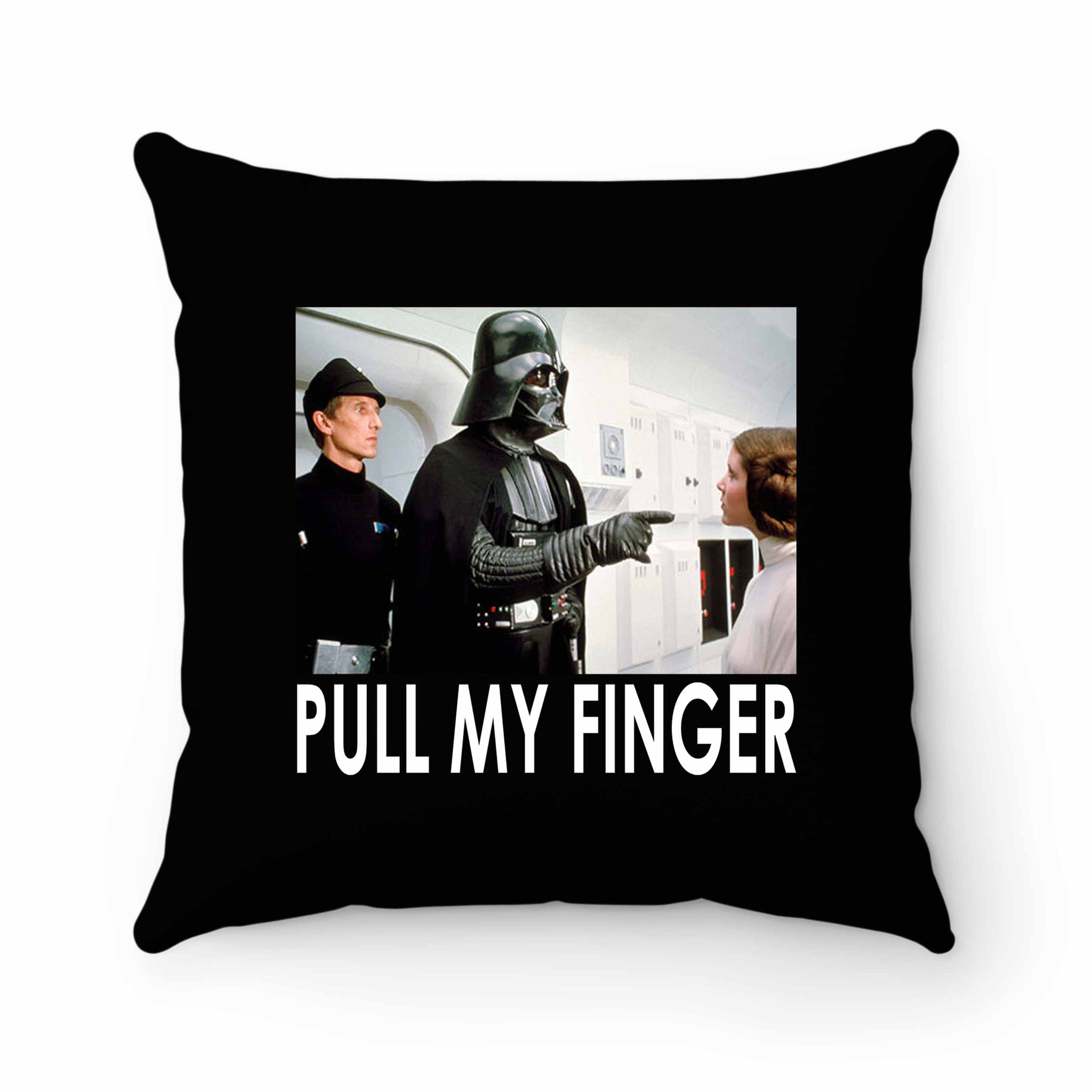 Star Wars Darth Vader Pull My Finger Pillow Case Cover