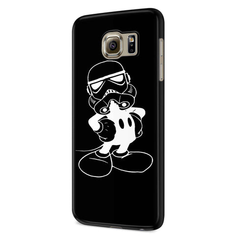 Star Wars Mashup Imperial Mickey Samsung Galaxy S6 S6 Edge Plus/ S7 S7 Edge / S8 S8 Plus / S9 S9 plus 3D Case