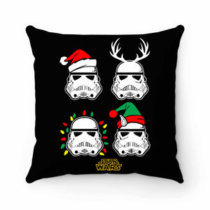 Stormtrooper Helmet Christmas Pillow Case Cover