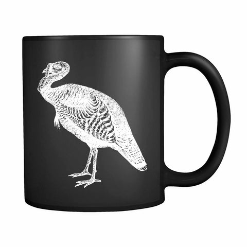 Striped Farm Turkey 11oz Mug