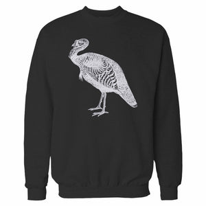 Striped Farm Turkey Sweatshirt