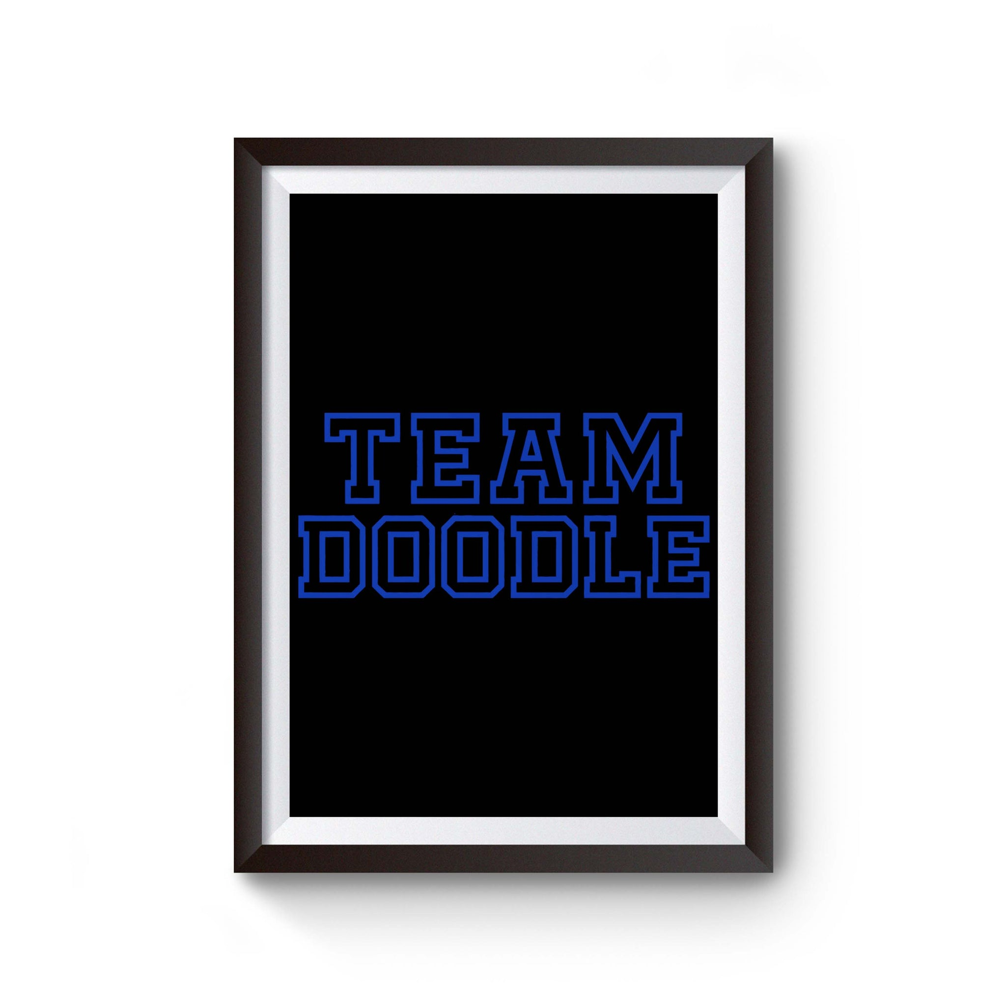 Team Doodle Poster