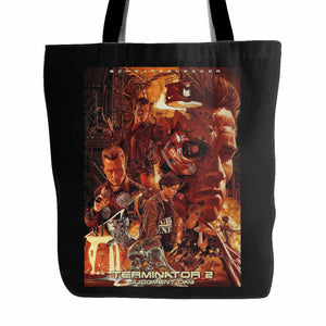 Terminator 2 Judgment Day Tote Bag