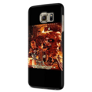 Terminator 2 Judgment Day Samsung Galaxy S6 S6 Edge Plus/ S7 S7 Edge / S8 S8 Plus / S9 S9 plus 3D Case