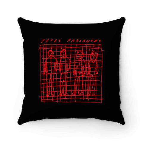 Tetes Parlantes Pillow Case Cover
