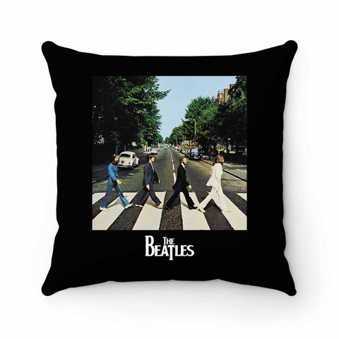The Beatles Abbey Road Album Pillow Case Cover