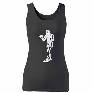 The Boxer Muhammad Ali Boxing Woman's Tank Top
