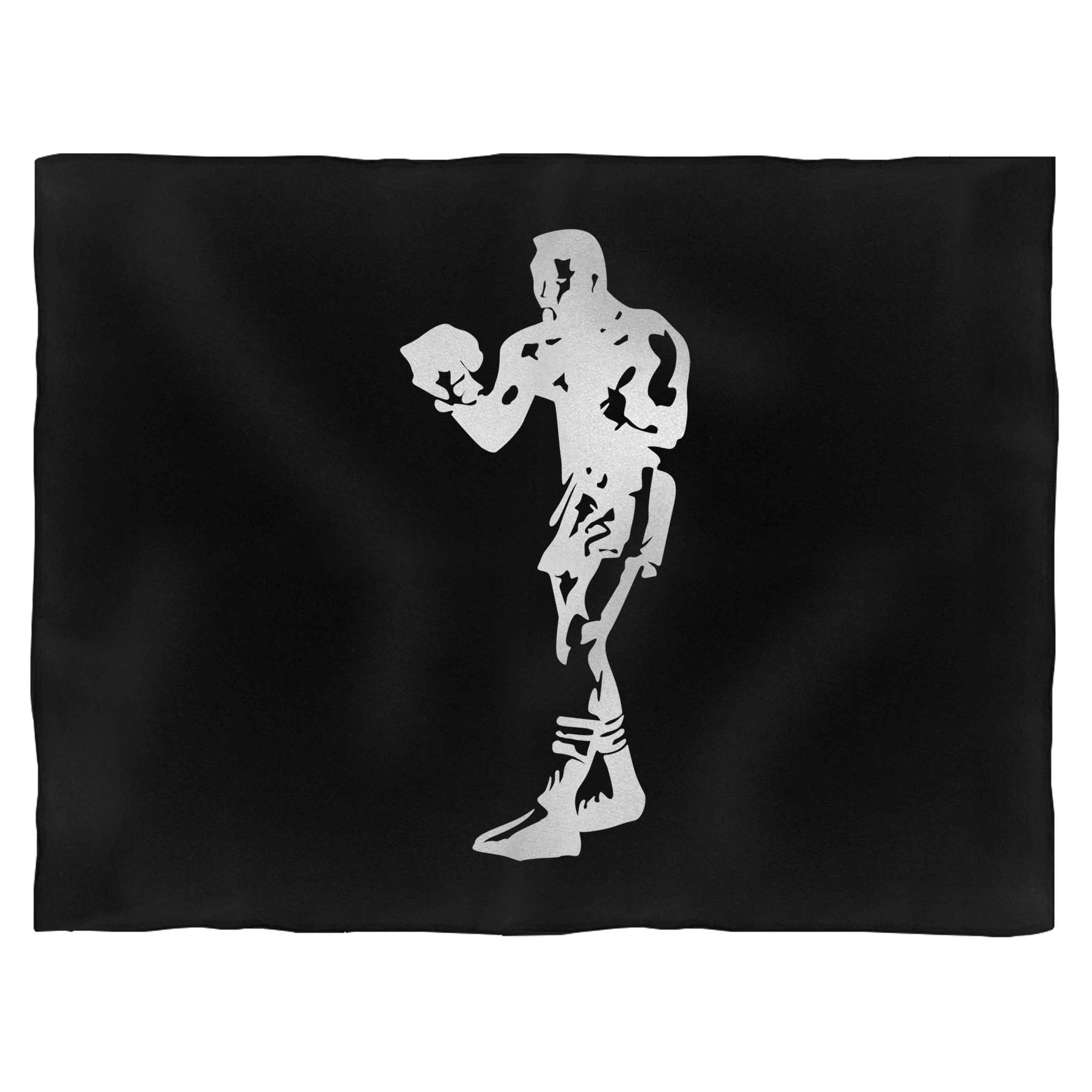 The Boxer Muhammad Ali Boxing Blanket