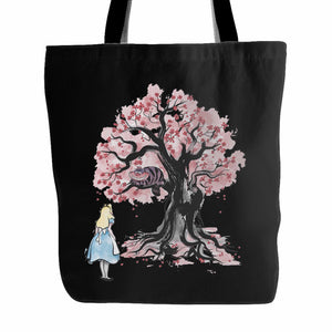 The Chesire's Tree Tote Bag