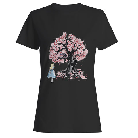 The Chesire's Tree Woman's T-Shirt