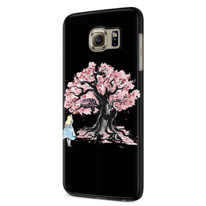 The Chesire's Tree Samsung Galaxy S6 S6 Edge Plus/ S7 S7 Edge / S8 S8 Plus / S9 S9 plus 3D Case