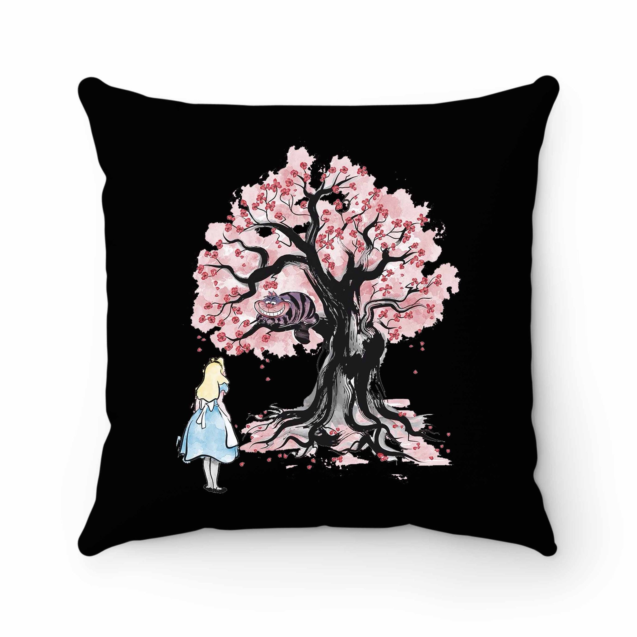 The Chesire's Tree Pillow Case Cover