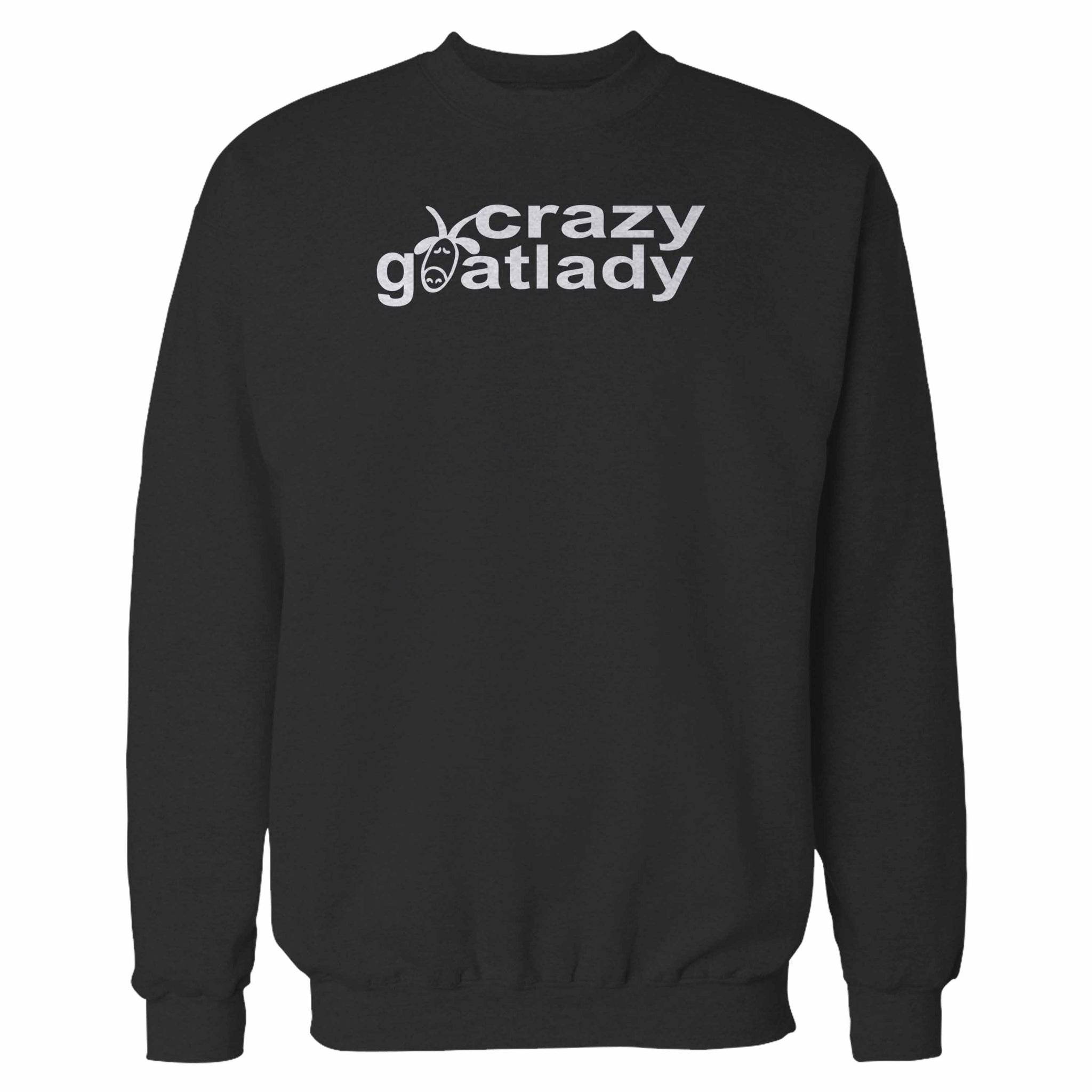 The Crazy Goat Lady Fun Goat Lovers Sweatshirt