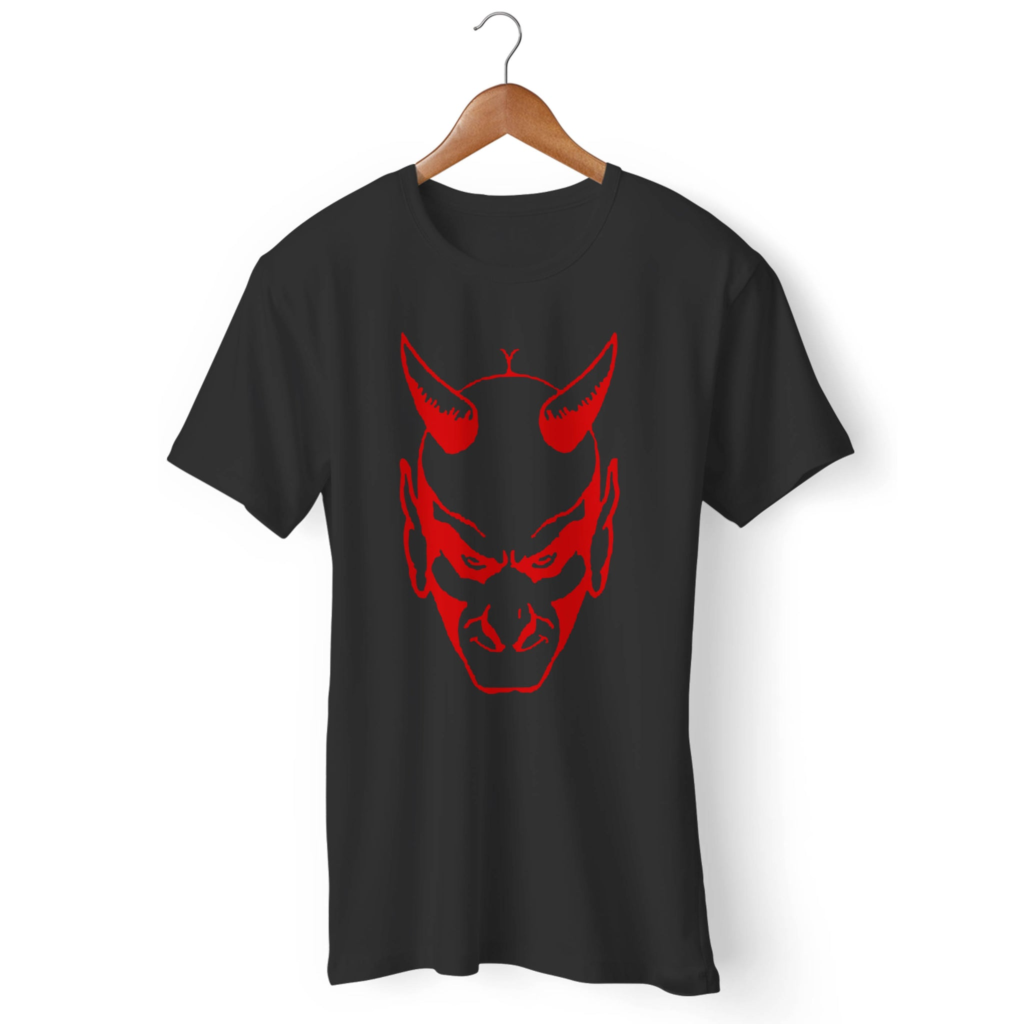 The Devil Glares Out From You Man's T-Shirt