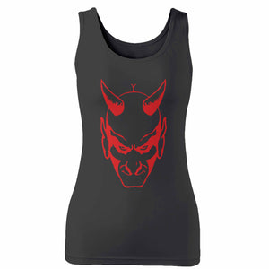 The Devil Glares Out From You Woman's Tank Top