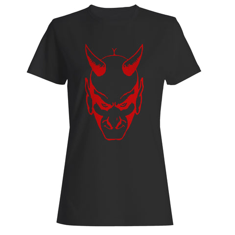 The Devil Glares Out From You Woman's T-Shirt