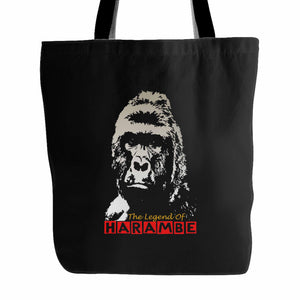 The Legend Of Harambe Tote Bag