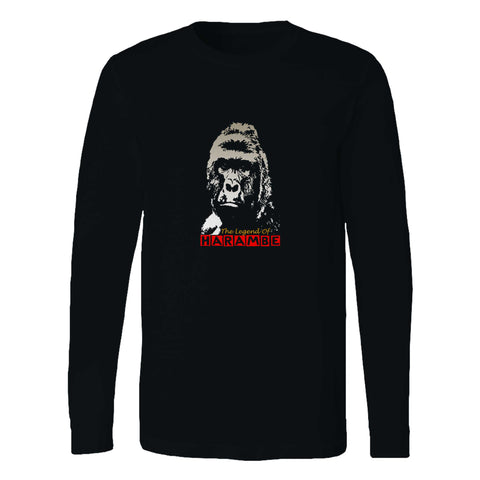 The Legend Of Harambe Long Sleeve T-Shirt
