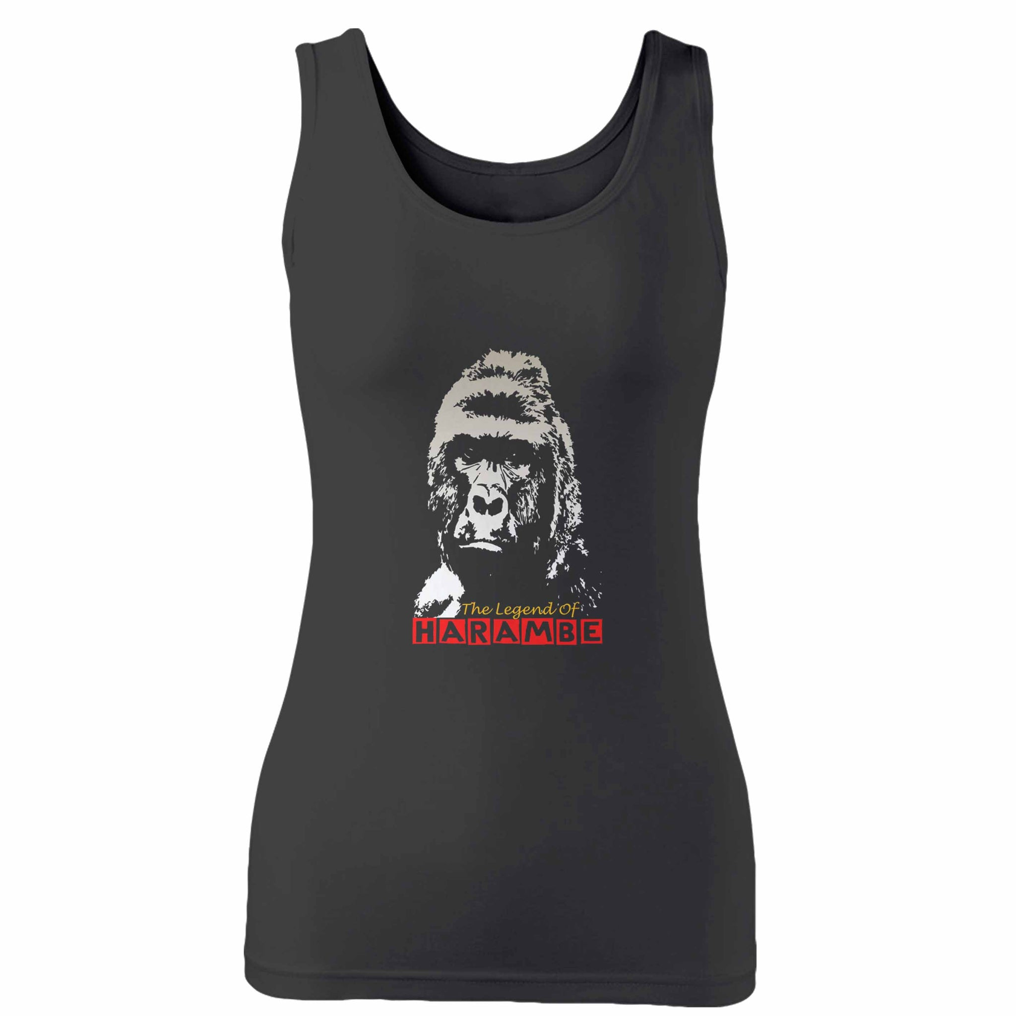 The Legend Of Harambe Woman's Tank Top
