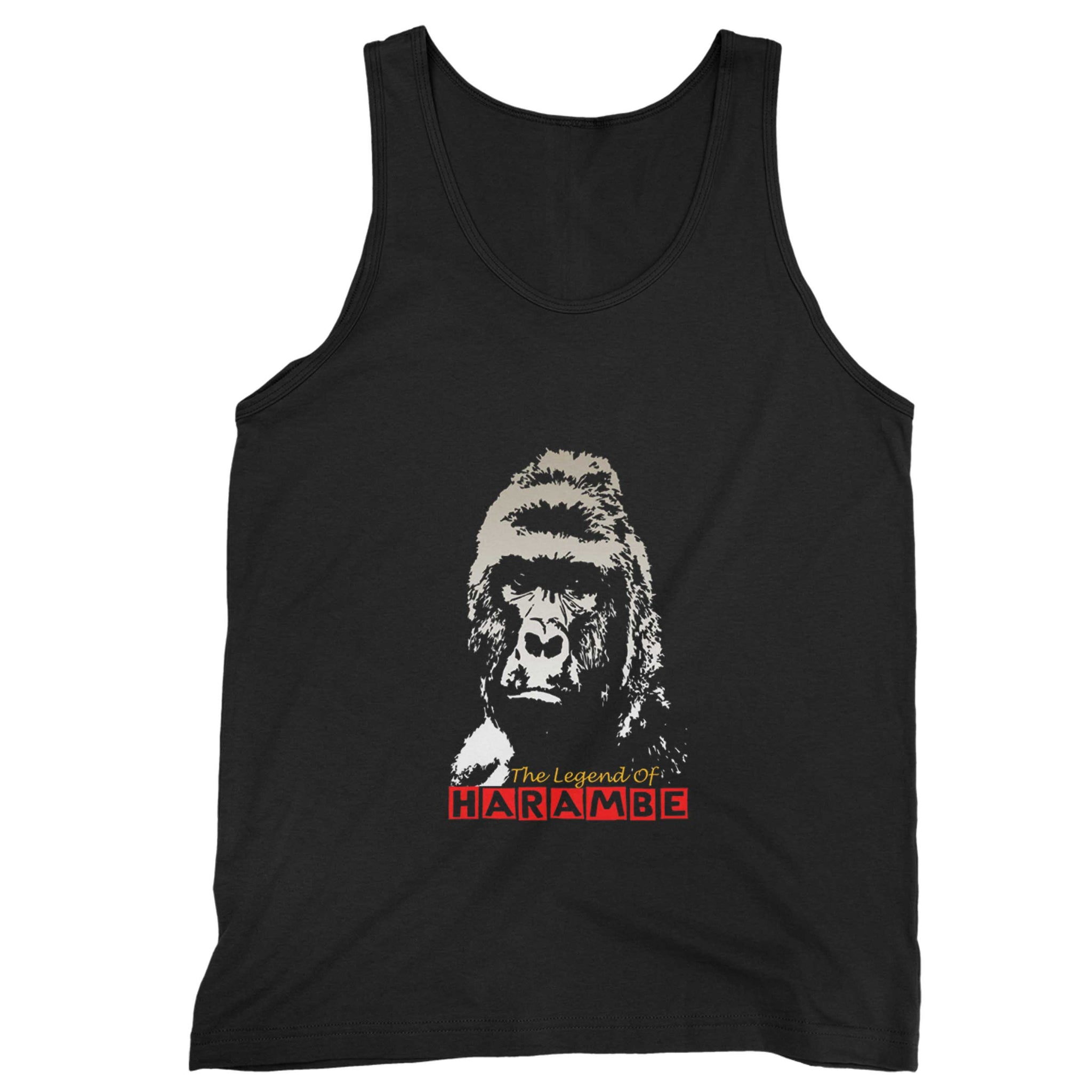 The Legend Of Harambe Man's Tank Top