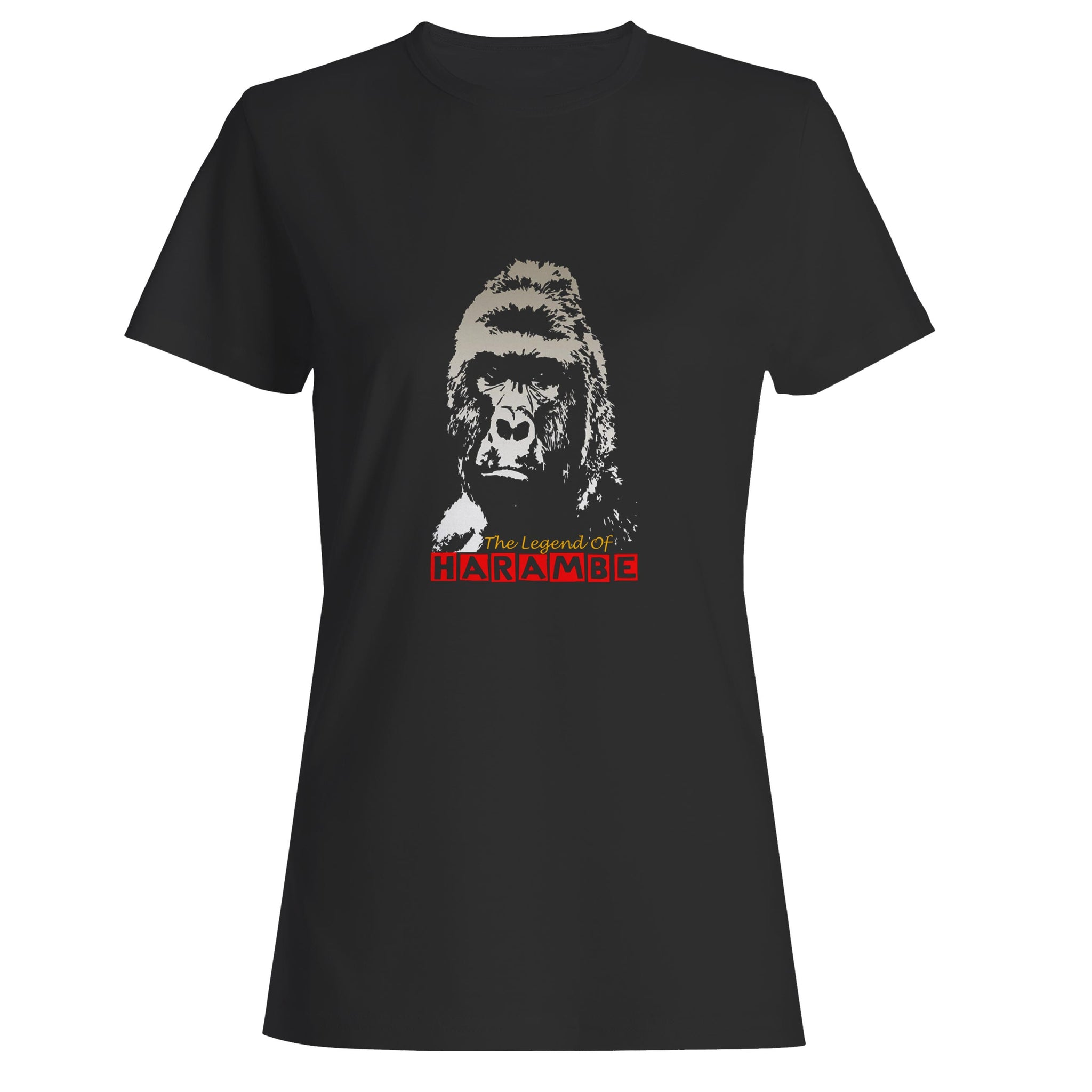 The Legend Of Harambe Woman's T-Shirt
