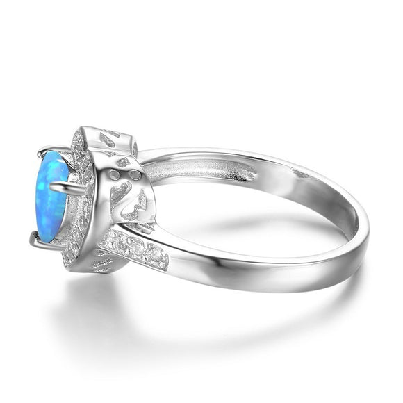 Crystal Fire Ring