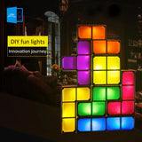 Tetris LED Stackable Puzzle Night Light
