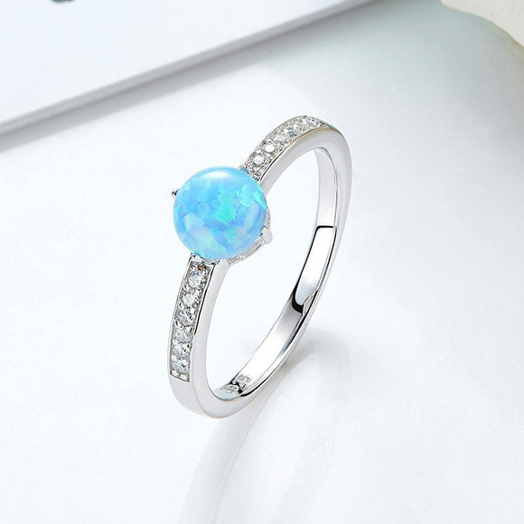 Moonstone Fire Ring