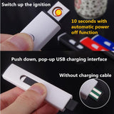 USB Rechargeable Double-sided Lighter