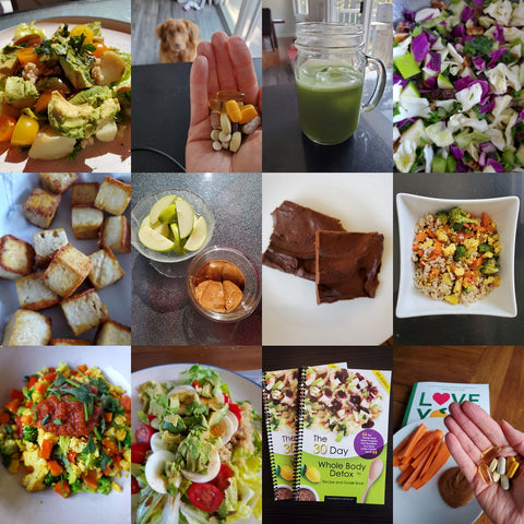 food images from the detox program
