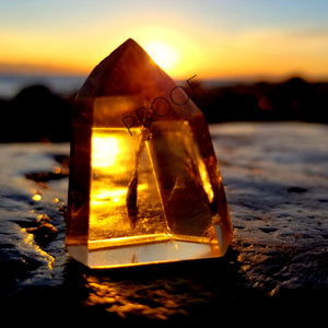 Brazilian Citrine at Sunrise