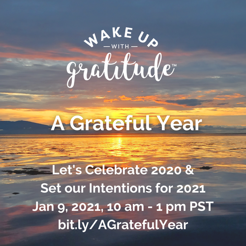 A Grateful Year, 2021 (2nd workshop)