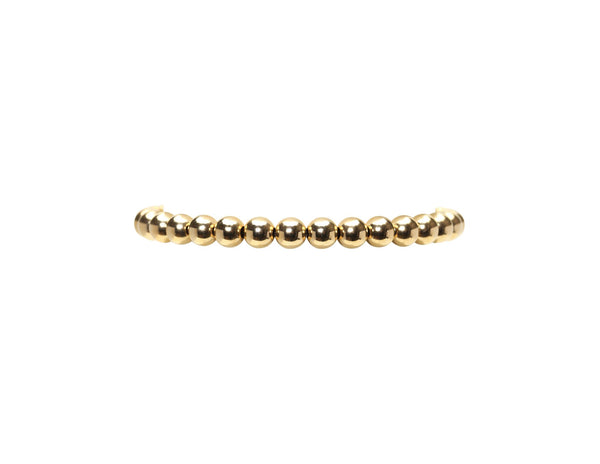 Gold Filled Ball Bracelet 5mm