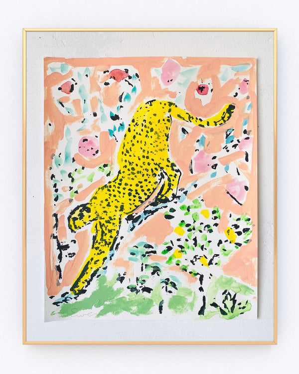 Serigraph Cheetah No. 8