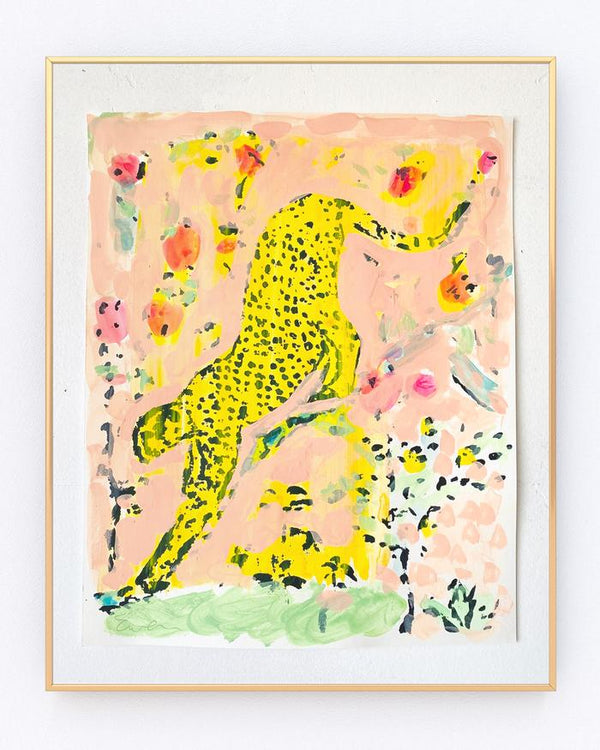 Serigraph Cheetah No. 9