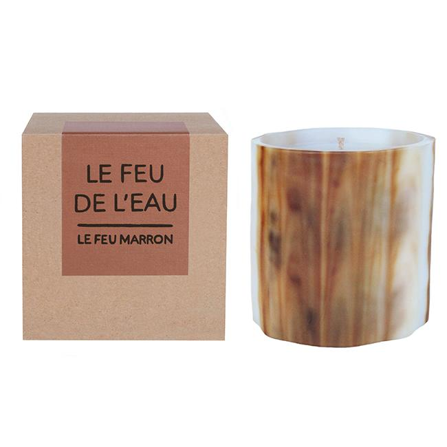 LE FEU MARRON - Artisanal Wax Candle