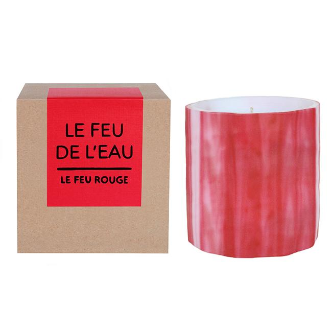 LE FEU ROUGE - Artisanal Wax Candle