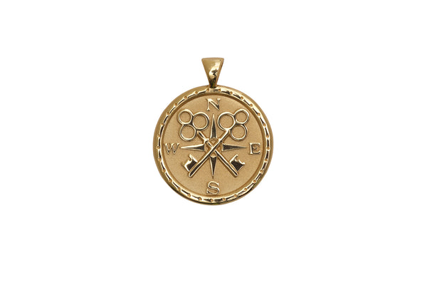 Coin Pendant Necklace - Forever