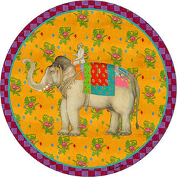 Elephant Placemat - Gold