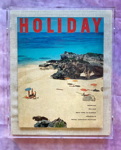 "Framed Holiday Magazine Cover - June 1958, ""Bermuda"""
