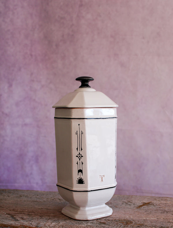 Art Deco Lidded Canister