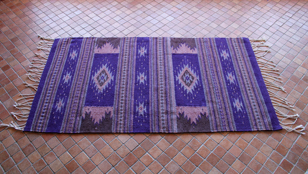 Zapotec Rug - San Miguel Star Purple