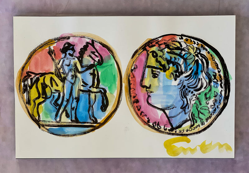 Rainbow Coin Pair