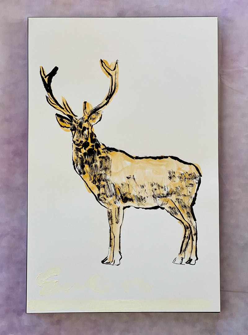 Stag in Gold