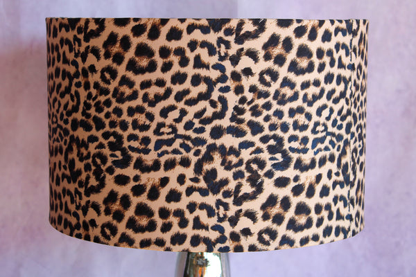 Leopard Print Lampshade