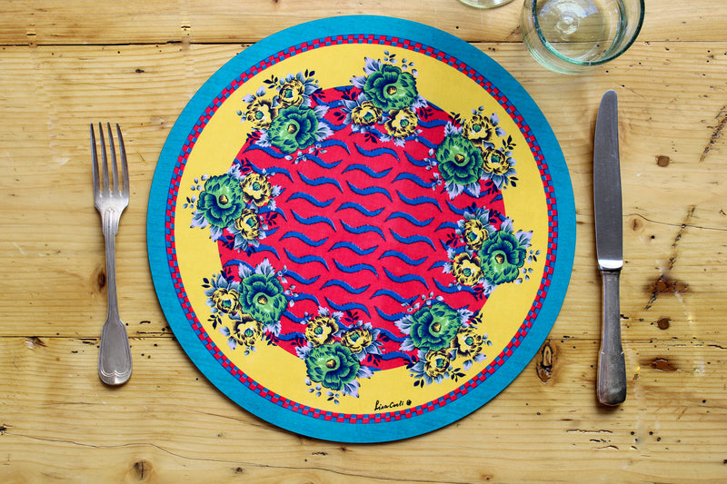 Tiger Touch Placemat - Pink